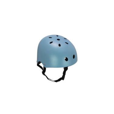 Capacete Esportivo Coquinho Regulável com 11 Entradas de Ventilação Azul Fosco Atrio Tam. P - ES192 Atrio