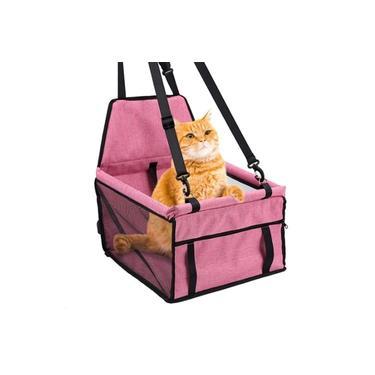 Bolsa de Transporte de Carro Para Cães e Gatos Cadeirinha Assento Veicular