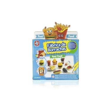 Imagem de Brinquedo Infantil Fabrica De Borrachas Fast Food - Estrela