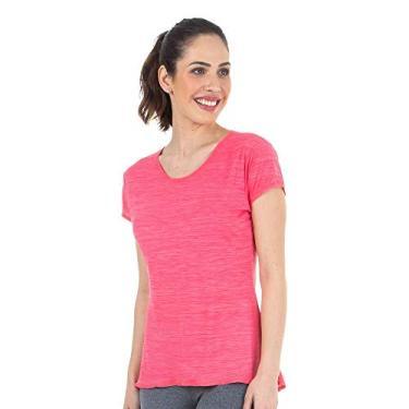 150153636d Camiseta Baby Look Rosa