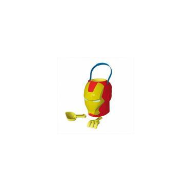 Imagem de Homem De Ferro Balde De Praia 3D Com Acessórios Rosita
