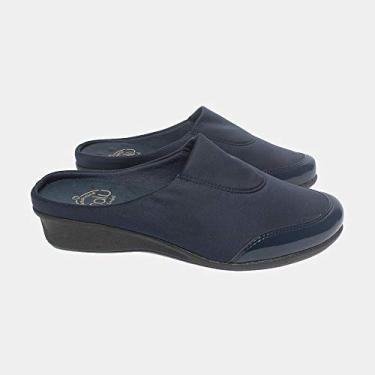 Sapato Malu Super Comfort Eloá Feminino Marinho 36