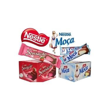 Kit Chocolate Sensação E Moça 38g C/ 48 Unidades - Nestlé