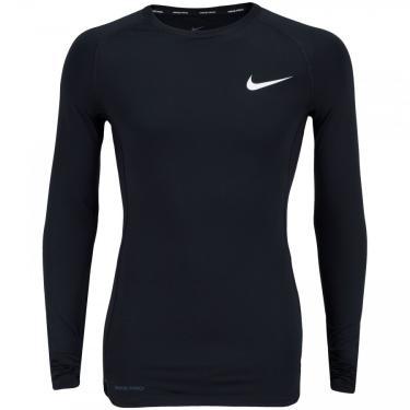 Camisa de Compressão Manga Longa Nike Pro Top LS Tight - Masculina Nike Masculino