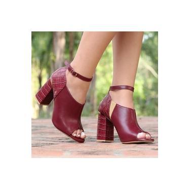 Sapato Open Boot Camminare Rouge Feminino 6202-05014057
