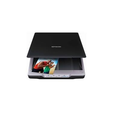 Scanner de Mesa Epson 4800 dpi, Colorido, Perfection  V19
