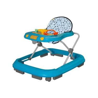 Andador Infantil Tutti Baby Safari Musical - Azul