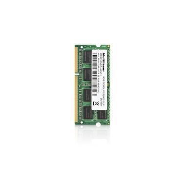 Módulo de Memória Multilaser Sodimm DDR3 8GB PC3l12800 MM820