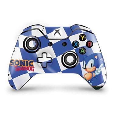 Skin Adesivo para Xbox One Fat Controle - Sonic The Hedgehog
