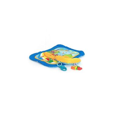 Imagem de Tapete Infantil para Bebês com Almofada azul da Dican