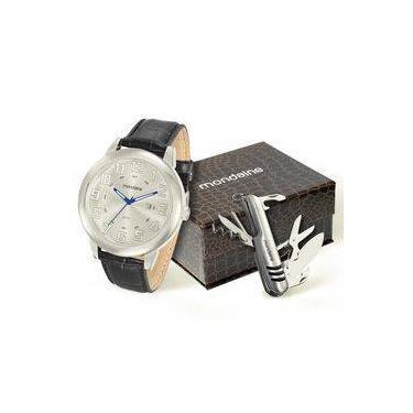 8eef19713fa Relógio de Pulso Masculino Mondaine Calendário Shoptime