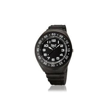 341f0338656 Relógio Everlast Masculino Caixa e Pulseira PU E3031