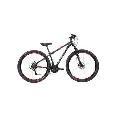 Imagem de Bicicleta Caloi Supra 29 Aro 29 21 V Preto - Tamanho 17