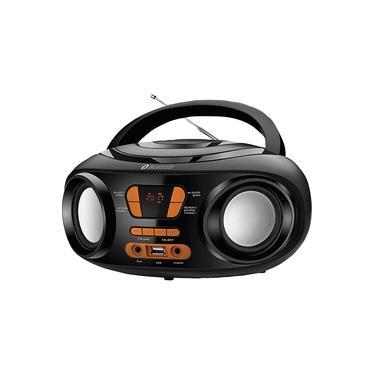 Rádio Portátil Mondial Up Dynamic BX-19 8WRMS com Entrada USB Preta e Laranja