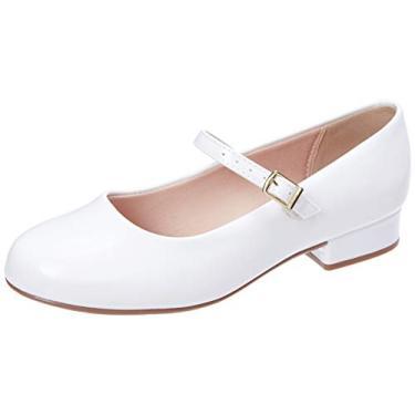Sapato Verniz Premium, Molekinha, Meninas, Branco, 30