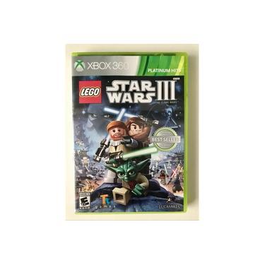 Lego Star Wars 3 The Clone Wars - Xbox 360 - Novo - Lacrado