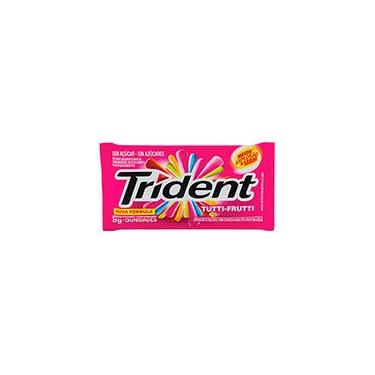 Goma de mascar tutti-frutti Trident PT 1 UN