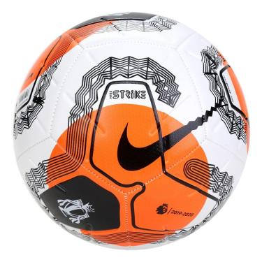 Bola Futebol Campo Nike Premier League Strike SC3552-103, Cor: Branco/Preto, Tamanho: 5