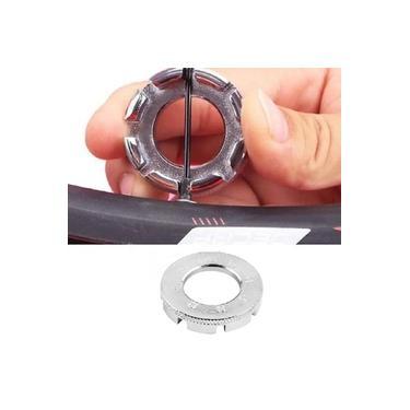 Chave de Raio Cromada KL-9726A Multimedidas Para Reparo De Roda Bicicleta Kenli