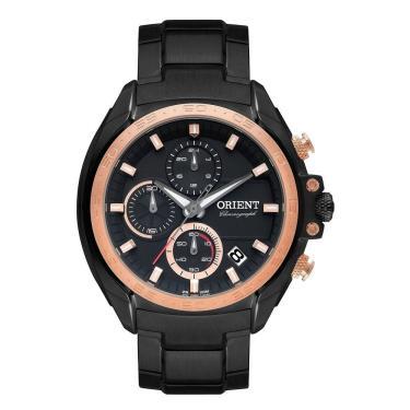 ca98803e90199 Relógio Masculino Orient Cronografo Mpssc011 P1px Preto