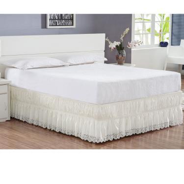 Imagem de Saia para cama box casal king Perolla