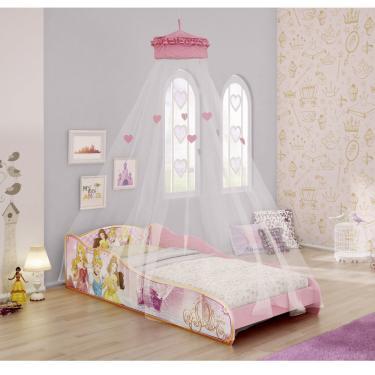 a22b84d0d2 Mini Cama Infantil Princesas Disney com Dossel de Teto Pura Magia