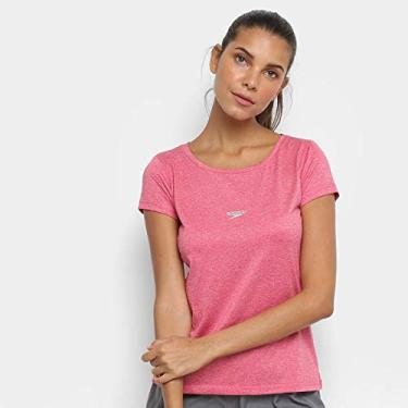 Camiseta Speedo Blend Feminina Coral P