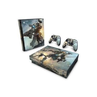 Skin Adesivo para Xbox One X - Titanfall 2