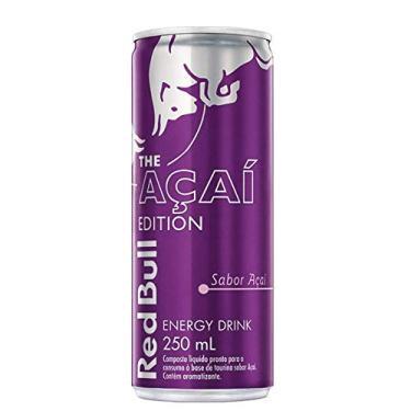 Energético Red Bull Energy Drink, Açaí, 250 ml