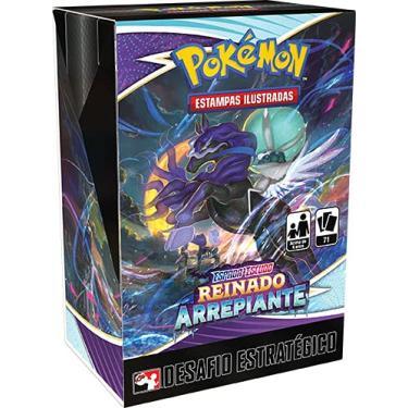 Imagem de Desafio Estratégico Pokémon Espada e Escudo 6 Reinado Arrepiante Copag Cards Cartas