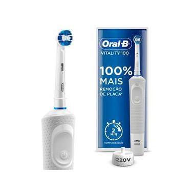 Imagem de Escova Dental Elétrica Oral-B Vitality 100 Precision Clean