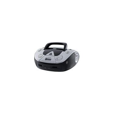 Boombox MP3/USB Player Preto/Prata Philco Bivolt PB126