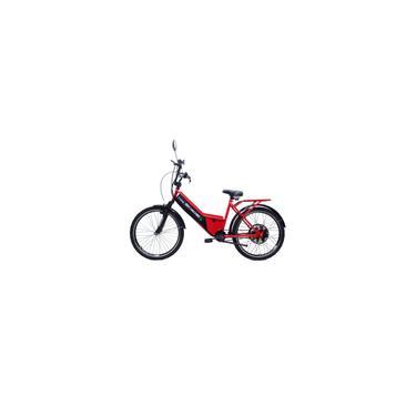 Imagem de Bicicleta Elétrica Basic 800W 48V Vermelha