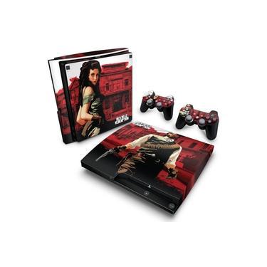 Skin Adesivo para PS3 Slim - Red Dead Redemption