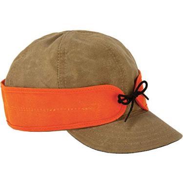 Boné Stormy Kromer encerado de algodão – Chapéu leve de outono com abas de orelha