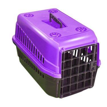 Caixa De Transporte n3 Para Cães E Gatos Grande Lilas