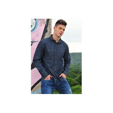 Camisa Jeans Masculina R7