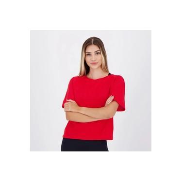 Imagem de Camiseta Fila Train Essentials Feminina Vermelha