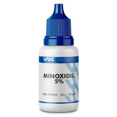 Minoxidil 5%  mais Propilenoglicol 120ml