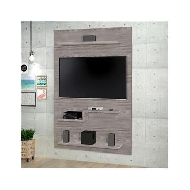 Painel pra Tv 2018 New para Tv de até 47 polegadas - Cinza - RPM Móveis