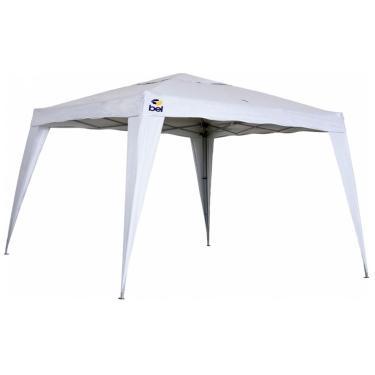 Tenda Gazebo Dobrável 3m X 3m Polietileno Branco Bel Fix.