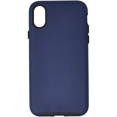 Capa Protetora Dual Strong Para iPhone X/ XS, iWill, Capa Anti-Impacto, Azul