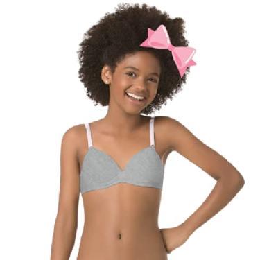 Imagem de Sutiã Infantil em cotton com bojo Miss DelRio Tam. G veste 10 a 12 anos 42949