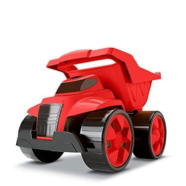 Imagem de Cardoso 1019 - Combo 2 em 1 Tractor and Truck, Large 24cm, cores sortidas