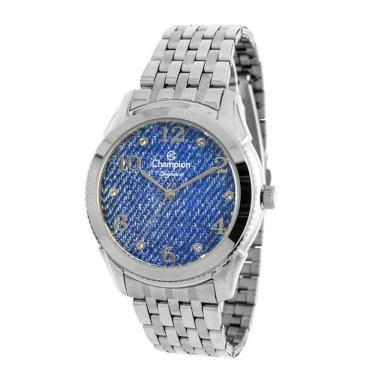 e3c522f24c7 Relógio Feminino Champion Analógico Prata - cn26984f