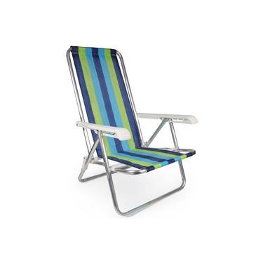 Cadeira Reclinável Alumínio 4 Posições - 2230