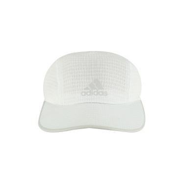 Boné Aba Curva adidas Running Climachill - Strapback - Adulto - BRANCO  adidas 79133df28b8