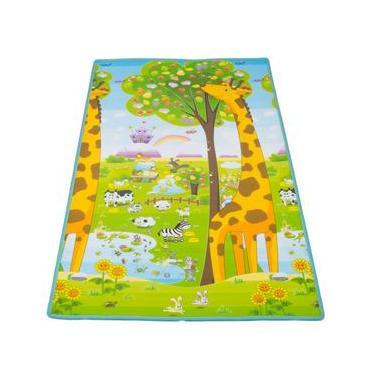 Imagem de Tapete Dupla Face Ibimboo 1,80x1,20 Girafa ABC 5002 - Colorido