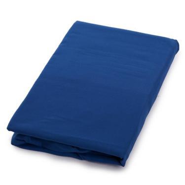 Lençol Avulso Com Elástico Queen Azul - Linha Avulsa
