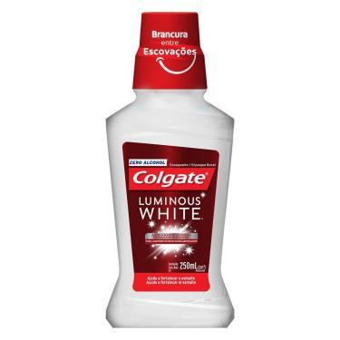 Enxaguante Bucal Colgate Luminous White Plax 250ml
